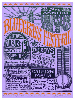 Harsens Island Bluegrass Festival, 2nd Annual