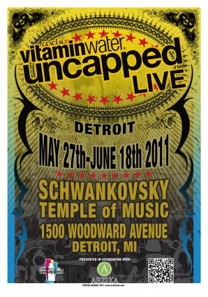Uncapped Live, Vitamin Water