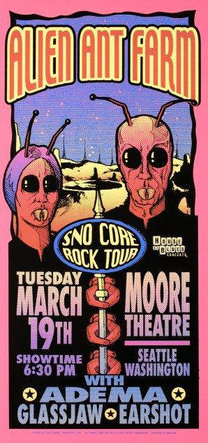Alien Ant Farm, Sno Core Rock Tour