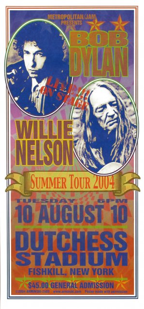 Bob Dylan, Willie Nelson, Summer Tour '04
