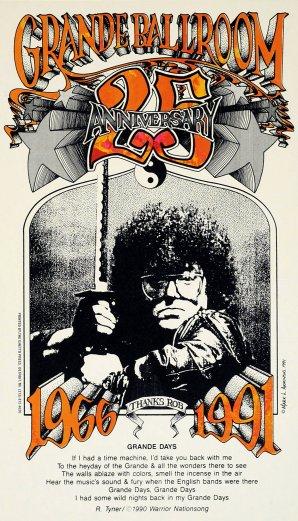 Grande Ballroom 25th Anniversary Poster
