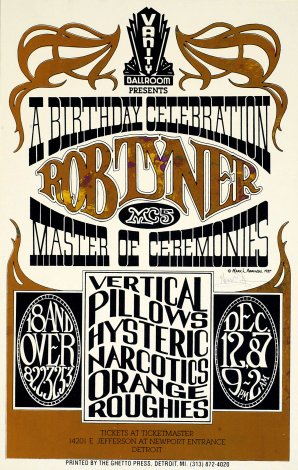 Rob Tyner Birthday Celebration