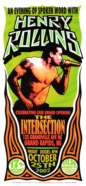 Henry Rollins, An Evening of Spoken Word