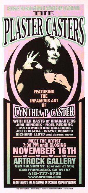 The Plaster Casters with Cynthia P. Caster