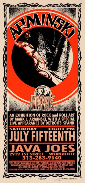 Exhibition of Rock and Roll Art, Arminski