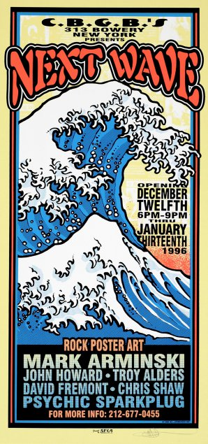 Next Wave, Rock Poster Art Exhibition