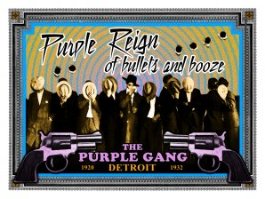 Purple Reign of Bullets and Booze