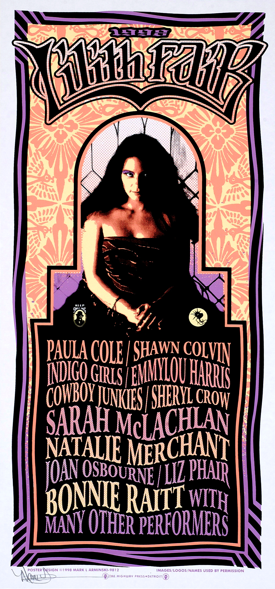 lilith fair If you were a dude growing up in the 90s, the arrival of lilith fair in the summer of 1997 was bittersweet on one hand, there was finally a music festival with.